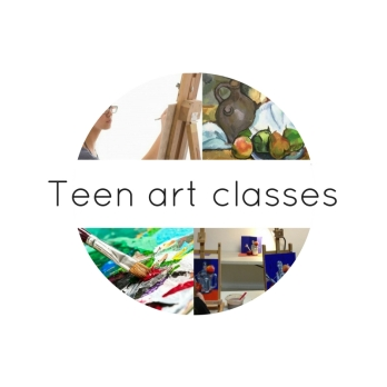 Teen art classes